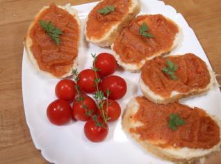 Fotografie k receptu Lilková pomazánka