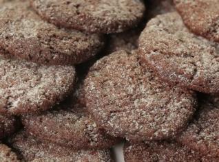Fotografie k receptu Rychlé čokoládové sušenky