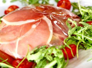 Fotografie k receptu Španělská šunka se salátem ze špaldy a fenyklu