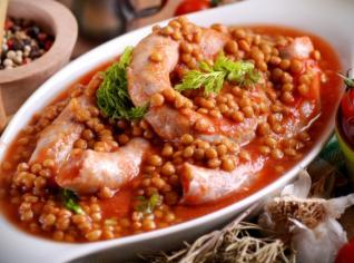 Fotografie k receptu Italská čočka