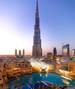 Armani Hotel ve věži Burj Khalifa, Dubaj