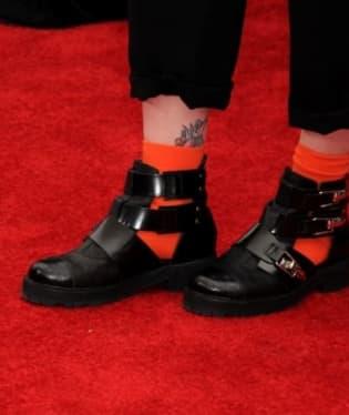 I boty Hayley nosí originální