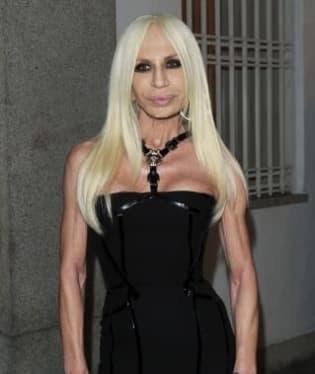 Módní návrhářka Donatella Versace