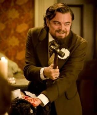 DiCaprio ve filmu Nespoutaný Django