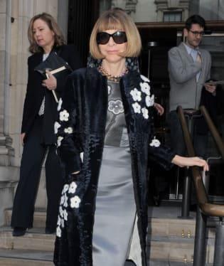 Inkriminovaný kabátek od Prady velké šéfce amerického Vogue sluší