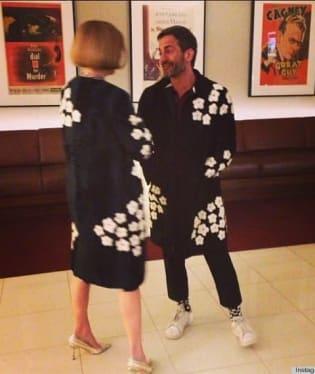 Anna Wintour a návrhář Marc Jacobs si o svém shodném vkusu popovídali