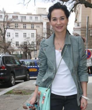 Sandra Nováková sleduje módní trendy
