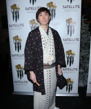 Japonský herec Sanshiro Katsura