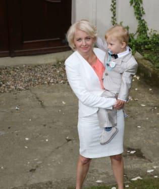 Veronika Žilková s vnukem Kryšpínem
