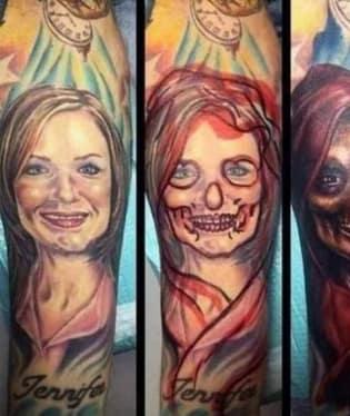 """Krásný způsob, jak se """"zbavit"""" tetování své přítelkyně"""