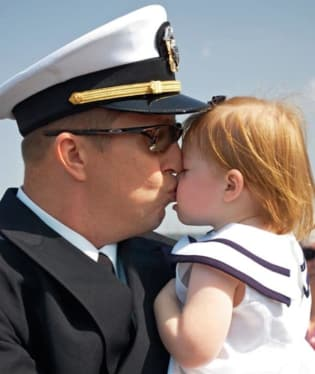 Richard Bosworth s dcerou Reagan, Ewa Beach, HI