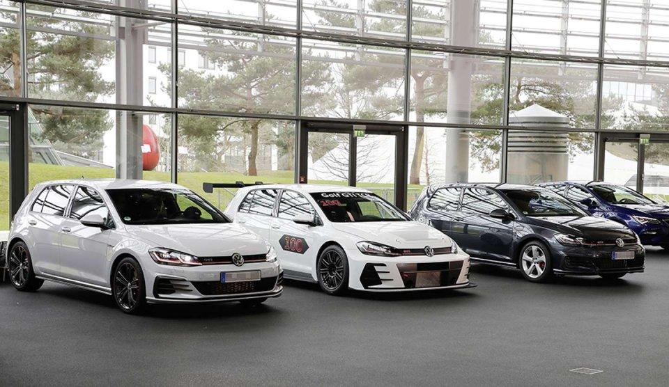 Volkswagen Golf GTI TCR v Autostadtu