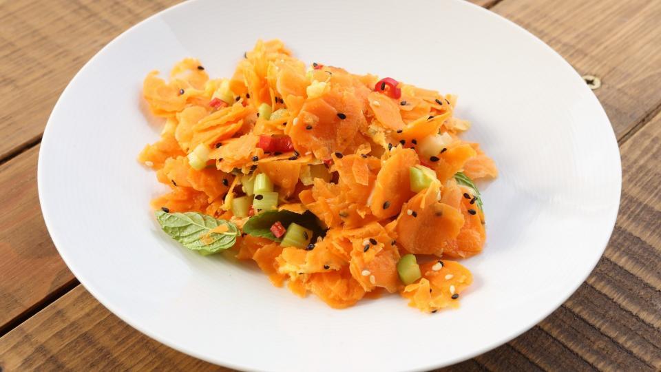 Pikantní mrkvový salát