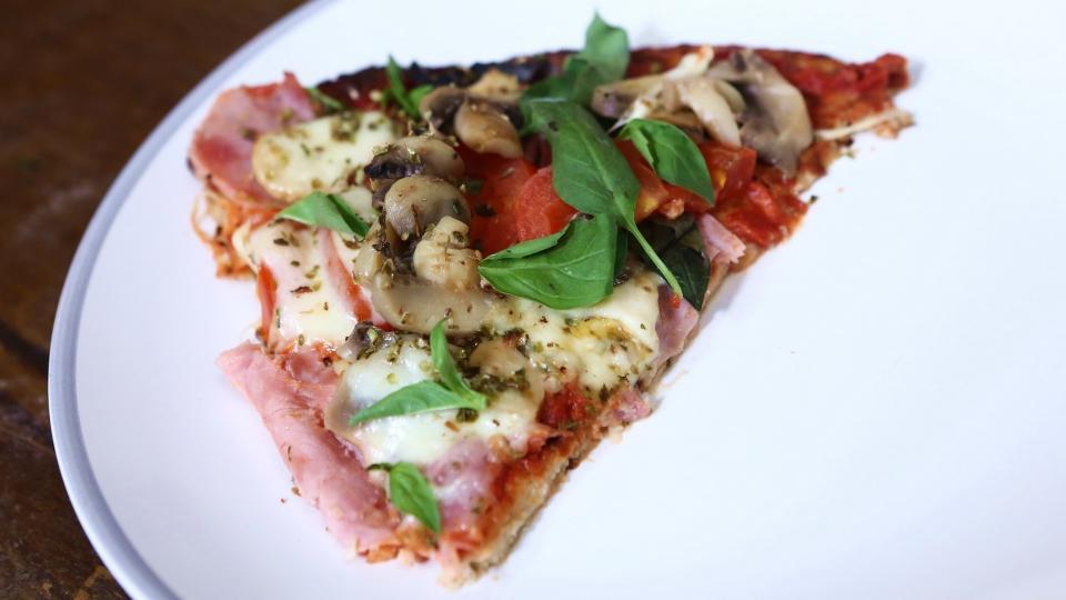 Zdravá květáková bezlepková pizza