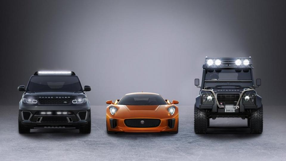 Automobily pro Spectre