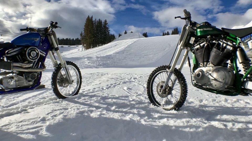Harley-Davidson Snow Hill Climb