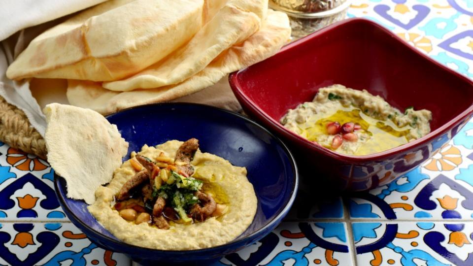 Hummus, Babagannus (Turecký humus a babaganuš)