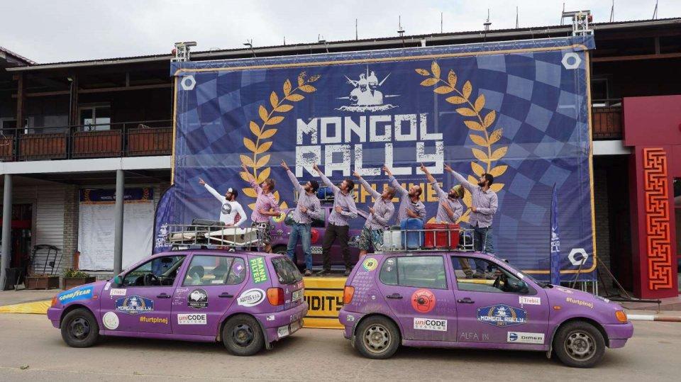 Mongol Rally v cíli