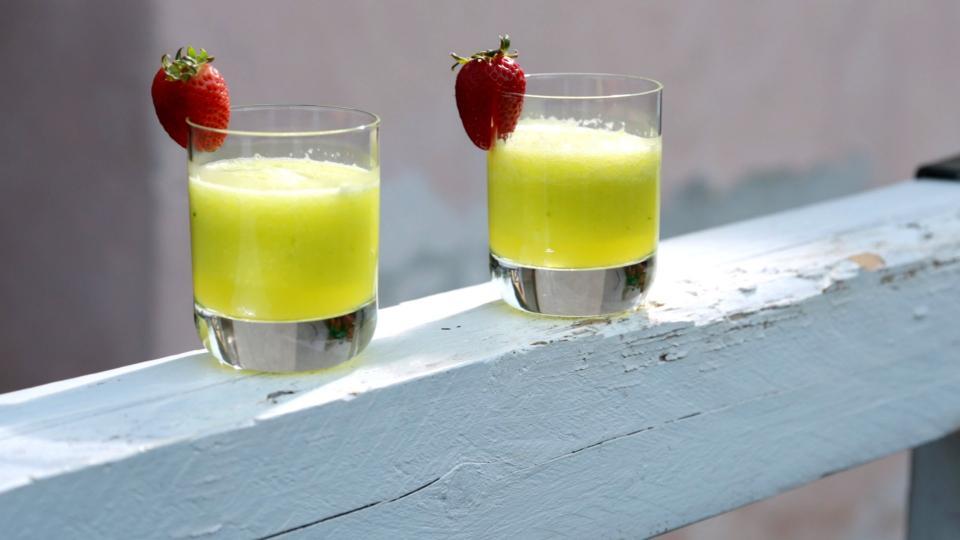 Okurkové smoothie s ginem