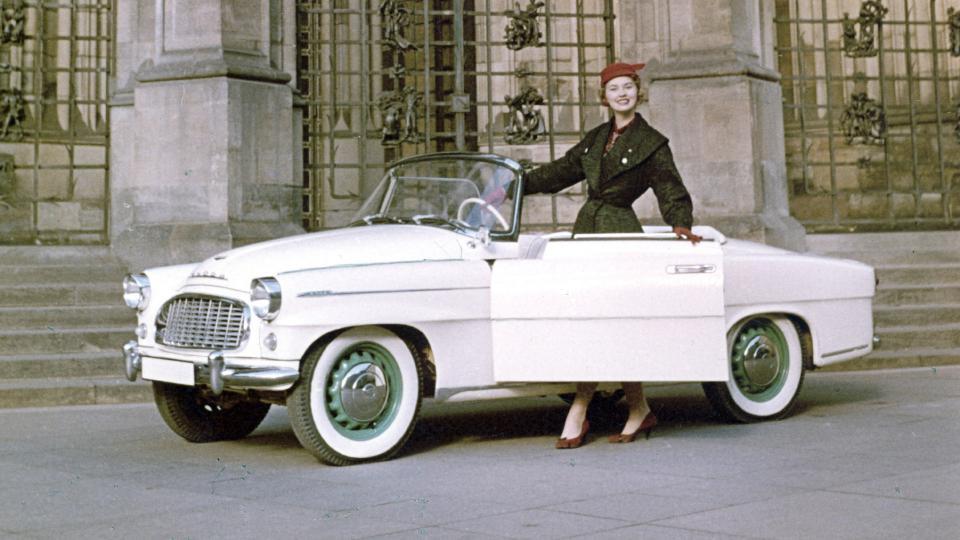 Škoda 450 zaujala i v USA, kde se prodala skoro polovina kusů.
