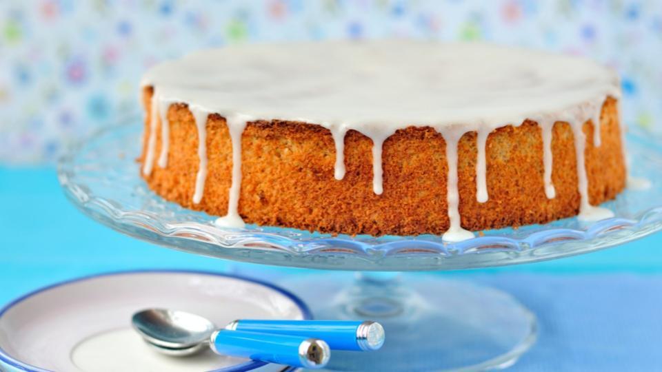Torta di carote e mandorle (Mrkvový dort s mandlemi)