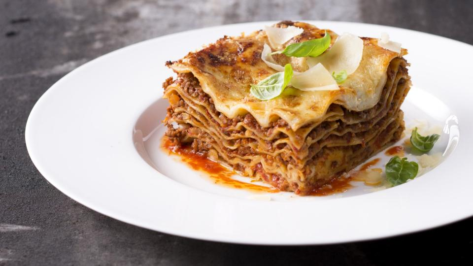 Lasagne alla Bolognese (Lasagne s boloňskou omáčkou)