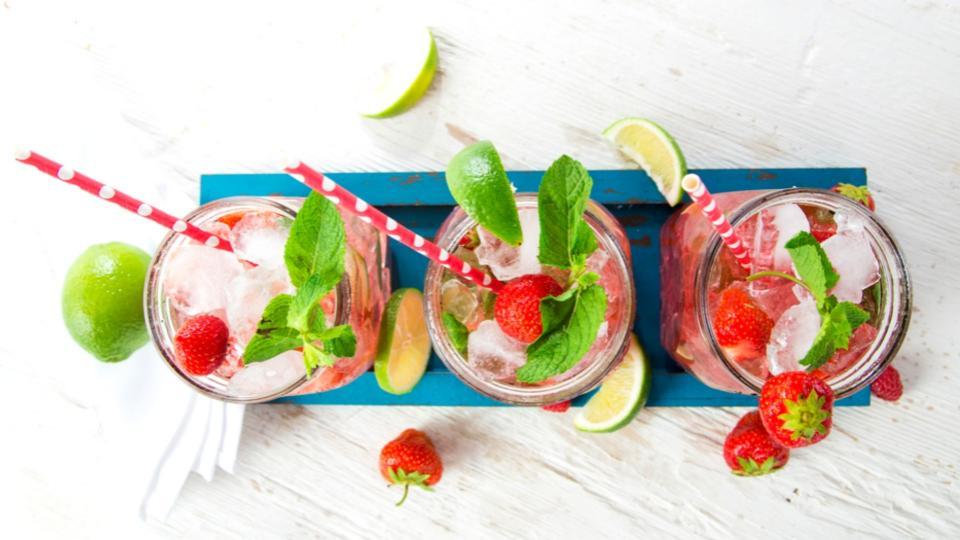 Zdravé letní limonády