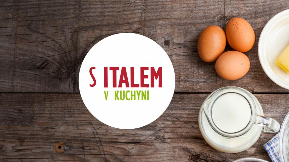 Fetucinne al Panenero con Speck e Gorgonzola (Fetucciny z tmavého pečiva se špekem a gorgonzolou)