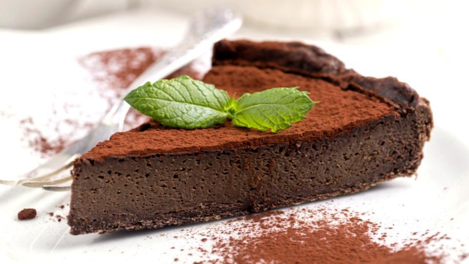 Torta alla gianduja (Nugátový dort)