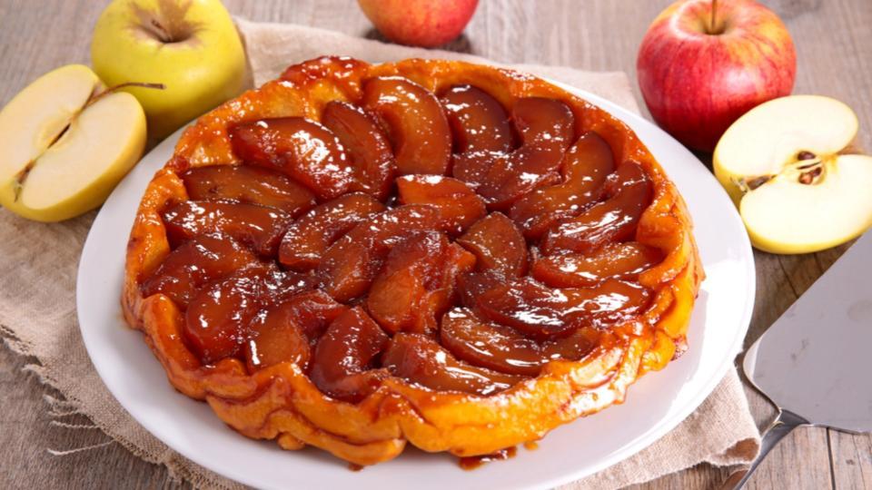Tarte tatin / Jablečný koláč s příchutí fíků
