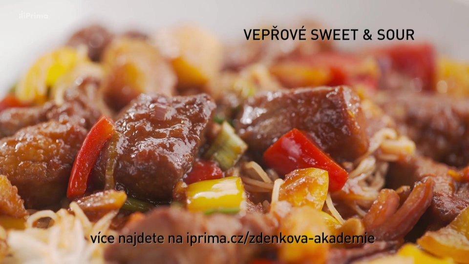 Vepřové sweet and sour