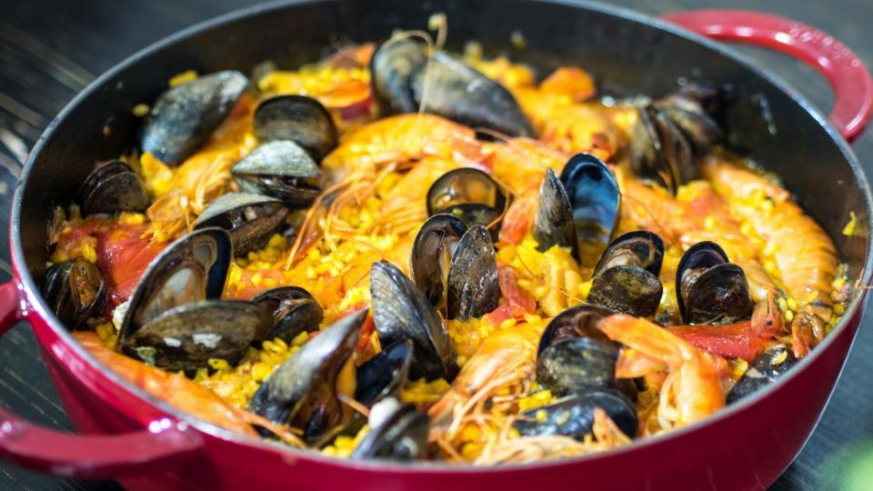 Tradiční paella