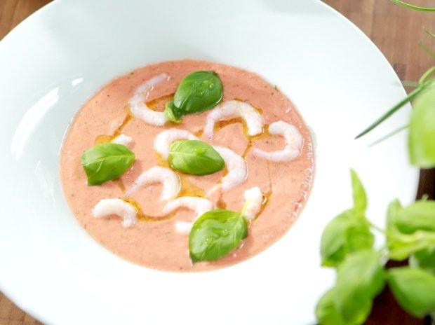 Studená zeleninová polévka