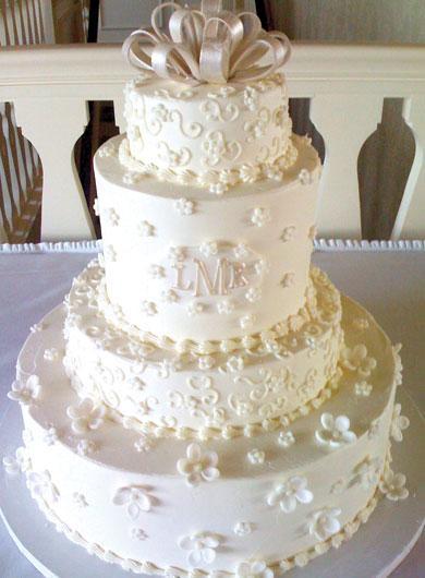 Nazdobený jako svatební dort - už to chápete?