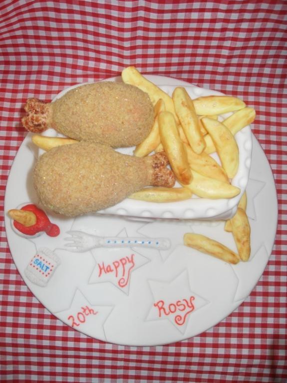 Báječné dorty: kuřátko se sladkou polevou