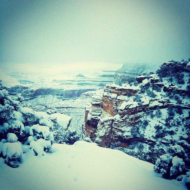 Grand Canyon a jeho nejkrásnější zimní fotografie - Obrázek 28
