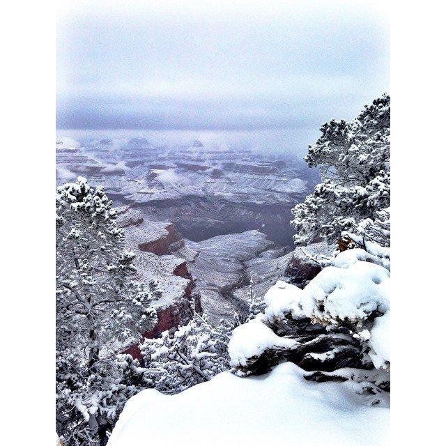 Grand Canyon a jeho nejkrásnější zimní fotografie - Obrázek 31
