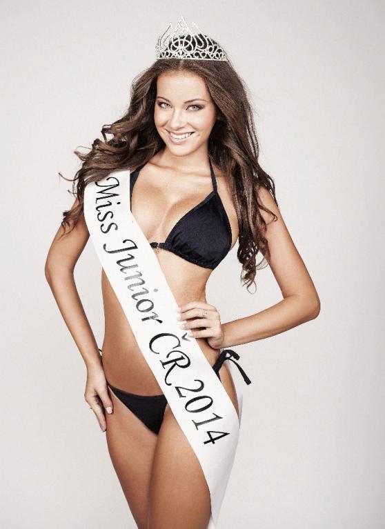 Miss Junior 2014 Andrea Žiačková