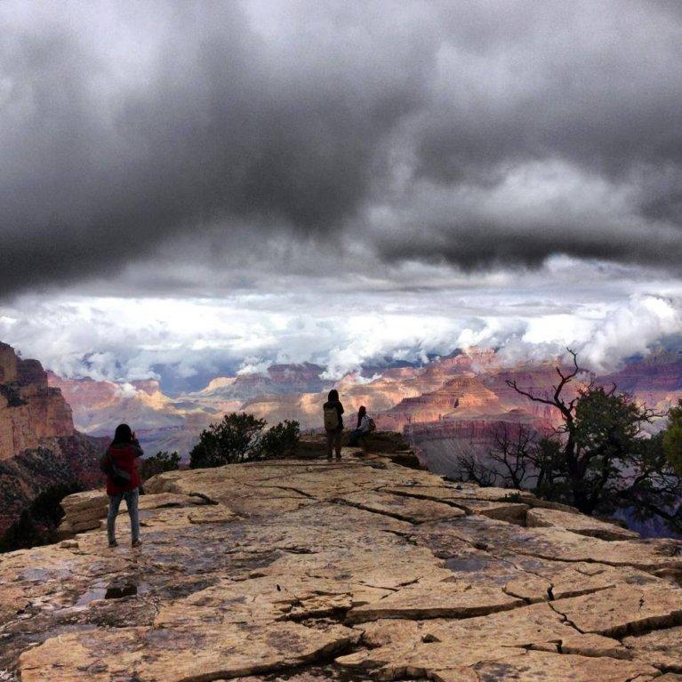 Grand Canyon a jeho nejkrásnější zimní fotografie - Obrázek 16