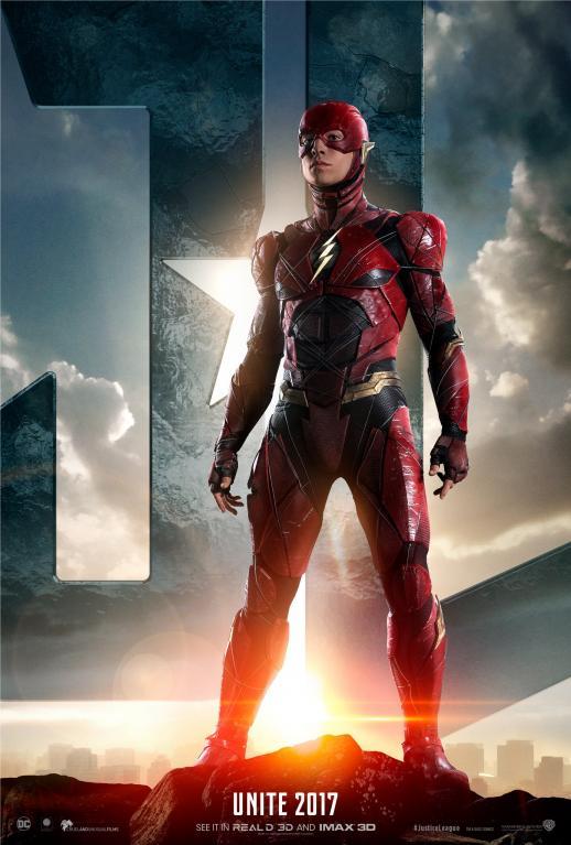 Flash na novém plakátu