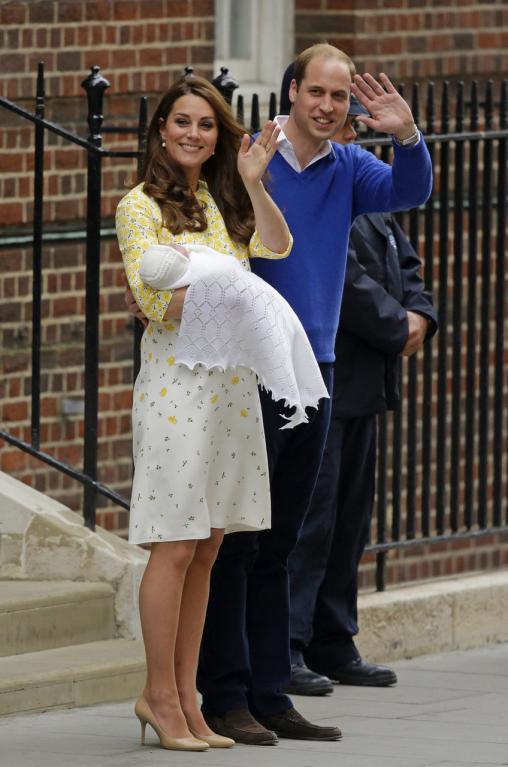 Veřejnost narození princezny velmi prožívala.