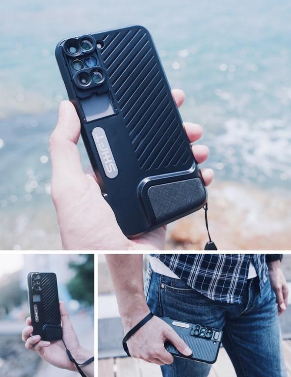 Speciální obal Shiftcam pro iPhone 1