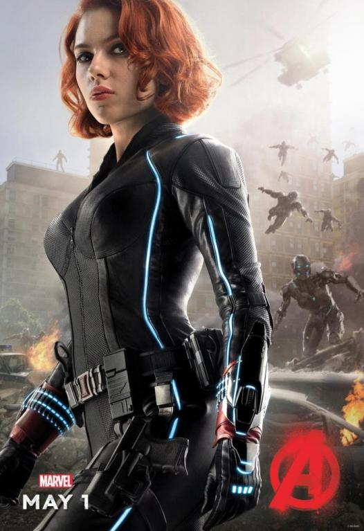 Black Widow z marvelovek (Scarlett Johansson)