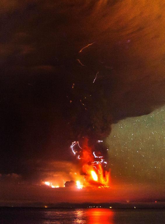 Erupce sopky Calbuco v Chile - Obrázek 4