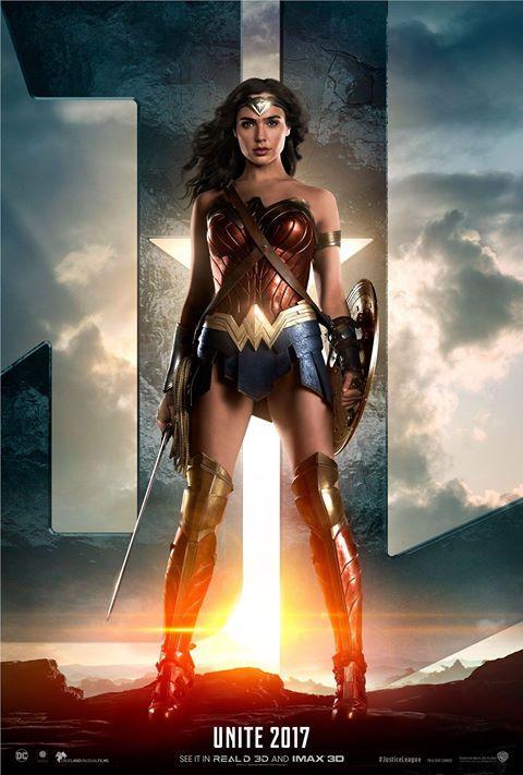 Wonder Woman na novém plakátu