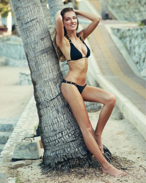 Česká Miss 2016 Andrea Bezděková na soustředění v Thajsku.