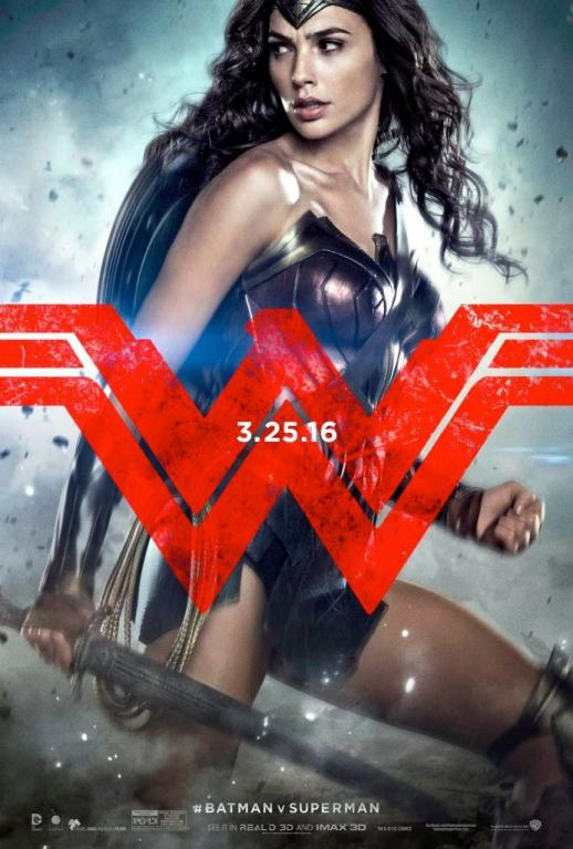 Wonder Woman z Batman vs. Superman (Gal Gadot)