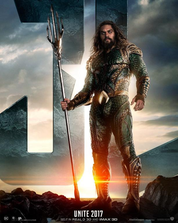 Aquaman na novém plakátu