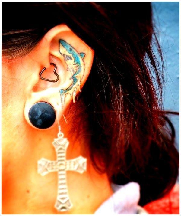 Ucho jako módní doplněk