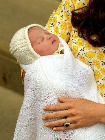 Jméno princezny zatím známé není.